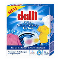 Салфетки для стирки Dalli 15шт