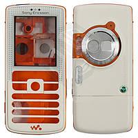 Корпус для Sony Ericsson W800 - оригинал (белый)