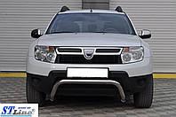Renault Duster 2008+ гг. Кенгурятник ST011 (нерж.)