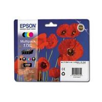 Комплект картриджей Epson для Expression Home XP-103/XP-203/XP-207 №17XL B/C/M/Y (C13T17164A10)