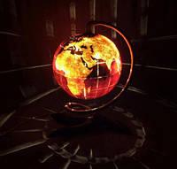 Кованый светильник глобус
