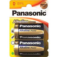 Батарейки Panasonic Alkaline LR20 BL2