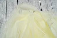 Лоскут мягкого фатина кремового цвета 50*180 см.