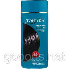 Красящий оттеночный бальзам для волос Тоника 1.0 Черный