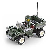 Дитячий конструктор Армія 92 блоки IM515