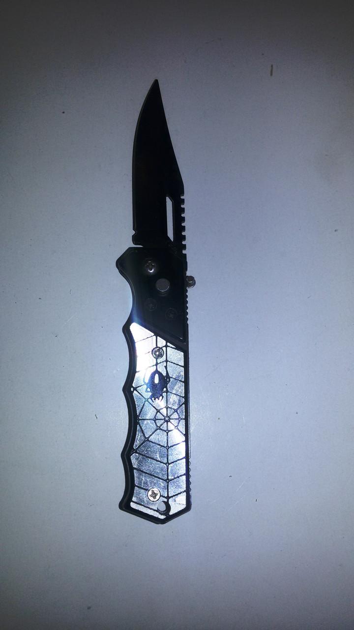 Нож раскладной паук