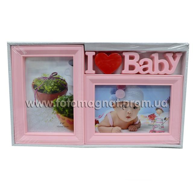 Мультирамка BABY фотоколаж для самих маленьких