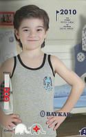 Майка для мальчика BAYKAR 2010 серая
