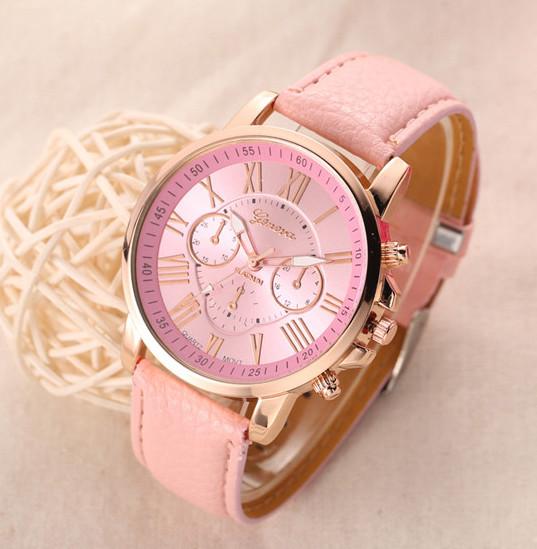 Жіночі годинники Geneva Platinum рожеві