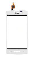 Оригинальный тачскрин / сенсор (сенсорное стекло) для LG Optimus L50 D213 One SIM (белый цвет)