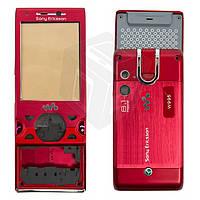 Корпус для Sony Ericsson W995 - оригинал (красный)