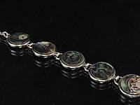 Браслет из галиотиса, монета (2)