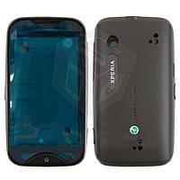 Корпус для Sony Ericsson WT13, черный, оригинал