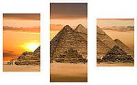 """Оригинальные картины на холсте """"Пирамиды"""""""