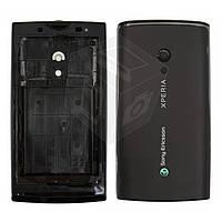 Корпус для Sony Ericsson X10, черный, оригинал