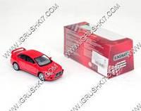 "Машина металлическая ""Kinsmart"" Mitsubishi Lanc Х кор.16х8см KT5329W"