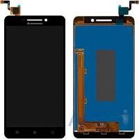 Дисплей (экран) для телефона Lenovo A5000 + Touchscreen Black