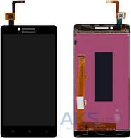 Дисплей (экран) для телефона Lenovo A6000, K3 + Touchscreen Original Black
