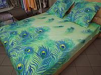 Постельное белье поплин дизайн Перо жарптицы