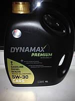 Масло двигателя 10w-40 Dynamax Premium (бензин, газолин, дизель)