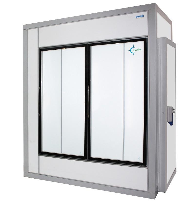 Холодильная камера со стеклом КХН-4,41