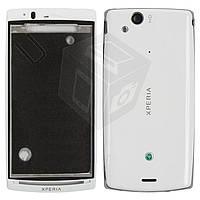 Корпус для Sony Ericsson LT15i / LT18i / X12, белый, оригинал