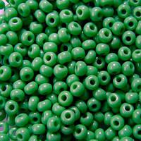 Чешский бисер Preciosa 50г 31119-53210-10 зеленый