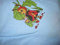 Постельное белье для детей с пчелкой из хлопка