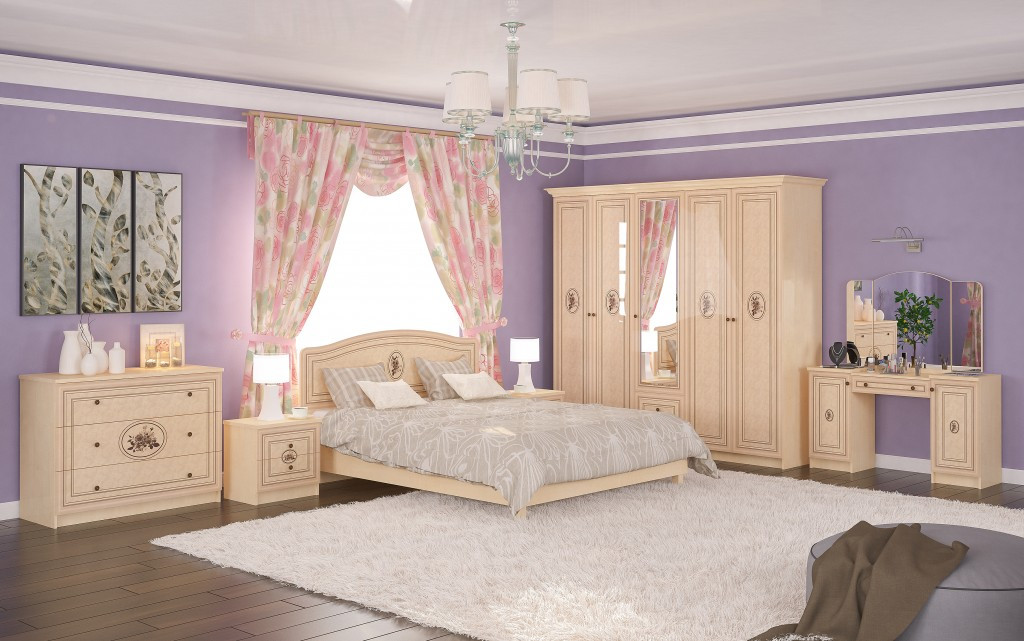 Спальня Флорис от Мебель Сервис