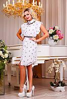 Женское летнее платье-рубашка+большой размер