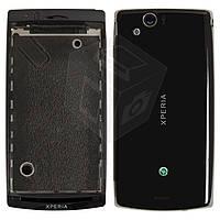 Корпус для Sony Ericsson LT15i/LT18i/X12 - оригинал (черный)