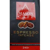 """Кава мелена """"Espresso Intense"""" ТМ Mason cafe 240гр"""