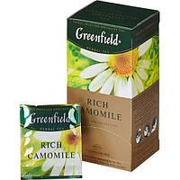 Чай  Greenfield 25*1.5г Rich Camomile+5пак