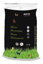 Удобрение для газона  Arvi Fertis НПК 17-6-11+МЕ , 20кг.