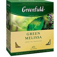 Чай   Greenfield м/у 100*2г Green Melisa