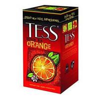 Чай Tess 25х1,5г Orange Апельсин чорн.