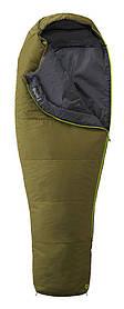 Спальный мешок левый MARMOT NanoWave 35 long moss