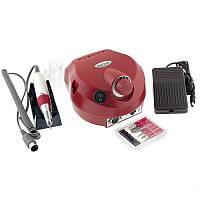 Фрезер для маникюра и педикюра  Nail Drill ZS-601 35 Вт, на 35000 оборотов, красный