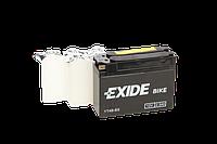 Аккумулятор для мотоцикла гелевый  EXIDE YT4B-BS= ET4B-BS  2,3Ah 113x38x85