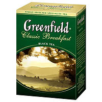 Чай   Greenfield 100г Classic Breakfast