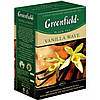 Чай  Greenfield 100г Vanila Wave чорн.