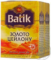 Чай  Батік чай Золото цейлона 90 г / 30шт