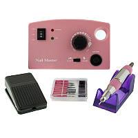 Фрезер для маникюра и педикюра Drill Pro ZS-602 на 30 Вт, 30000 оборотов, розовый