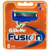 Кассеты для бритвы Gillet Fusion 8 шт/в упаковке