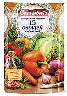 """Смаковита """"15 овощей и пряностей"""", 180 г"""