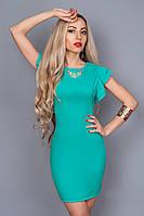 Платье  мод 241-3 размер 46,48 бирюза