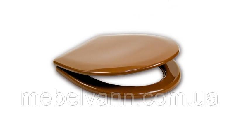 Сидение для унитаза Сиданит S-21 коричневая