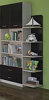 Шкаф книжный с углом Макс Летро