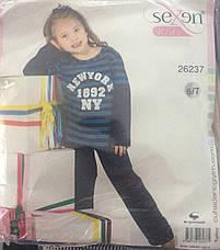 Дитяча піжама для дівчинки Sexen, фото 3