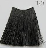 C:EHKO COLOR VIBRATION Безаммиачная крем-краска для волос 60 мл 1/0 ЧЕРНЫЙ